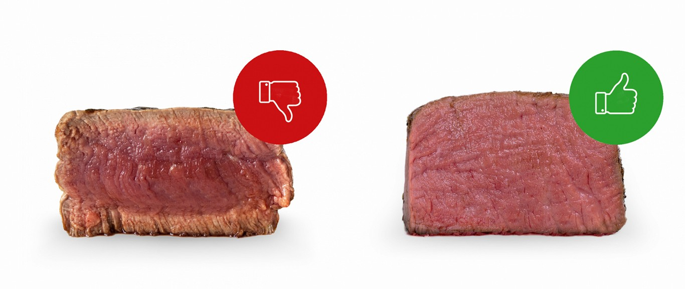 Perfect steak sous vide method