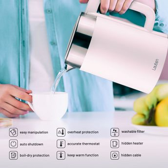 Lauben Electric Kettle EK17WS - useful functions