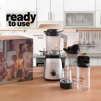 Lauben VacuFit Blender - ready to use package