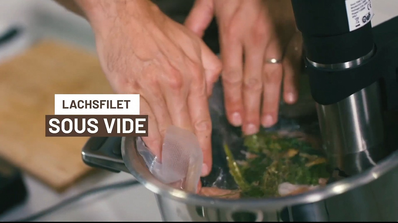 Video - Perfektes Lachsfilet mit der Sous Vide Methode